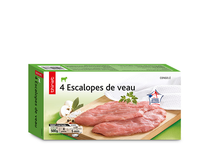 4 Escalopes de veau