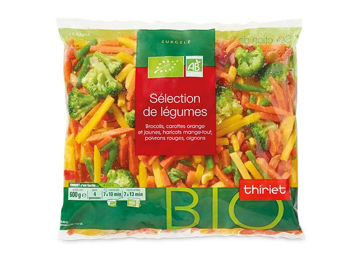 Julienne de légumes biologique