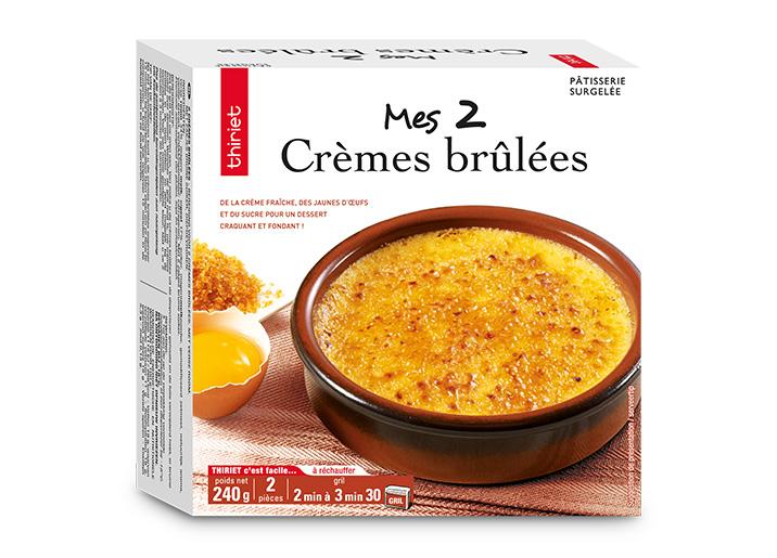 2 Crèmes brûlées
