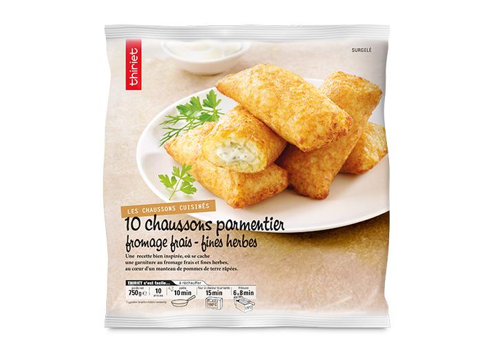 10 Chaussons parmentier au fromage frais