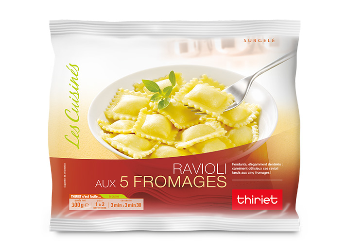 Ravioli aux 5 fromages