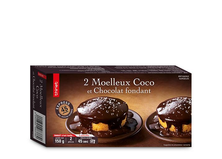 2 Moelleux coco et chocolat fondant