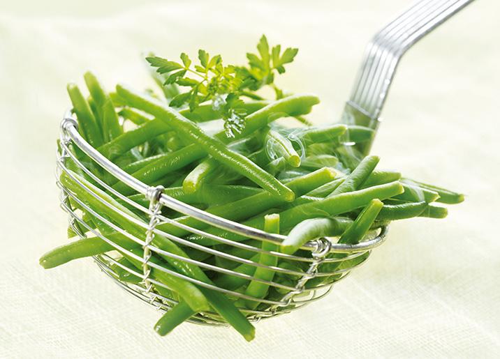 Haricots verts extra fins surgel gamme viandes volailles sur thiriet - Haricot vert fruit ou legume ...