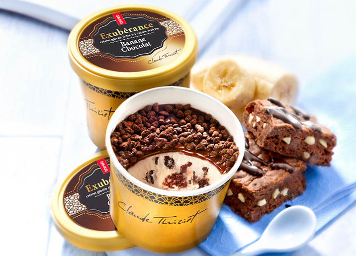 2 Pots Exubérance™ Banane Chocolat