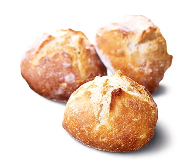 4 Petits pains biologiques