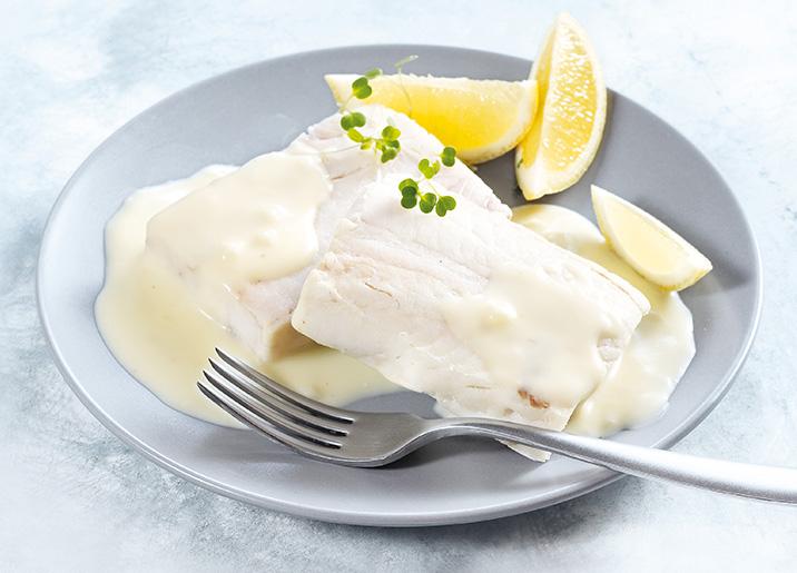 2 Portions filets colin d'Alaska sauce citron