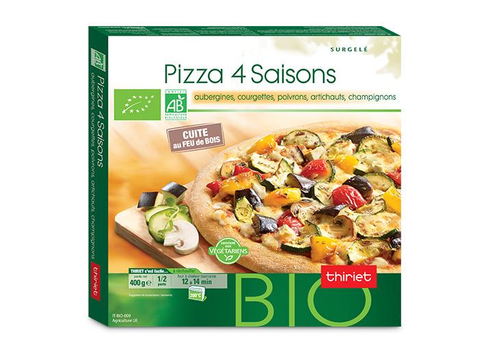 pizza 4 saisons biologique surgel gamme entr es snacking tartes sur thiriet. Black Bedroom Furniture Sets. Home Design Ideas