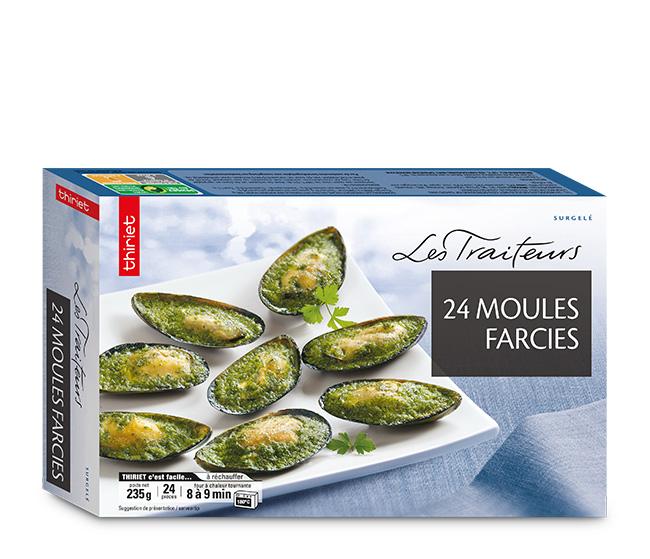 24 Moules farcies