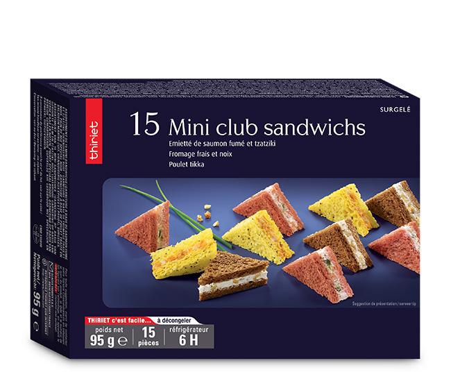15 Mini club sandwichs