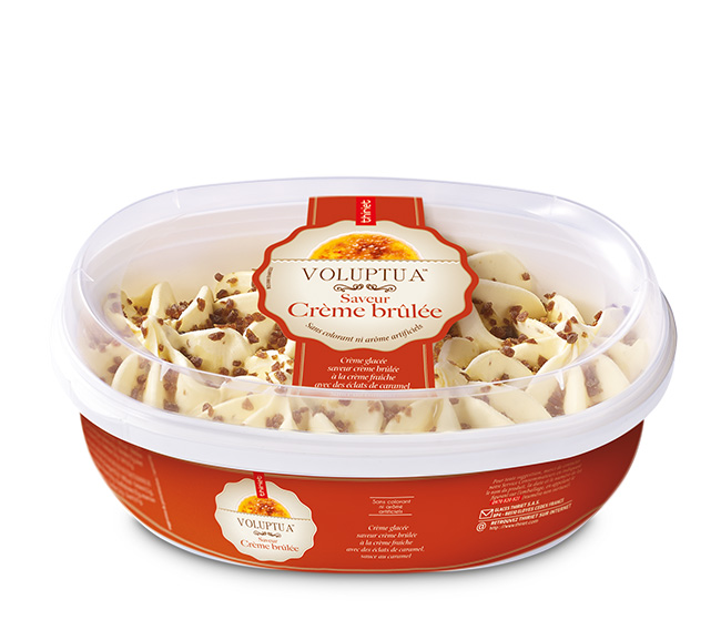 Voluptua™ Saveur Crème brûlée