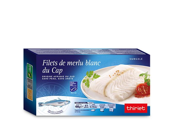 2 boites des Filets de merlu blanc du Cap