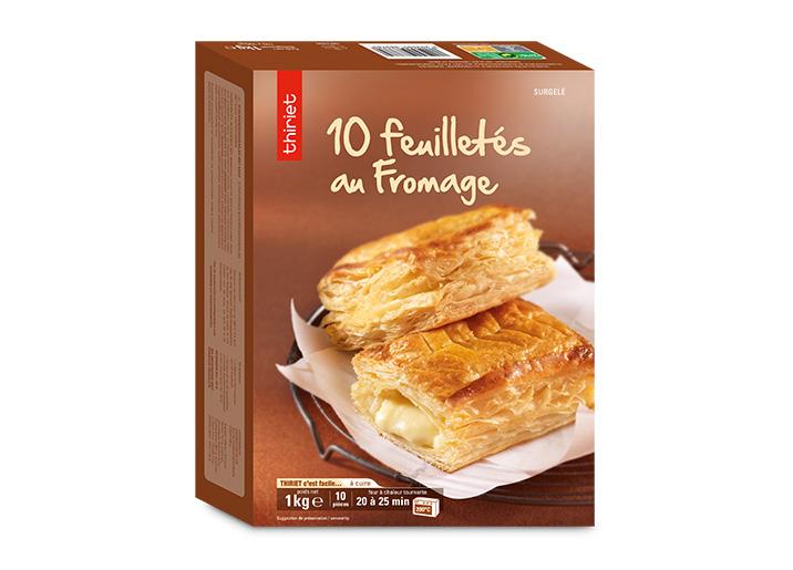 10 Feuilletés au fromage