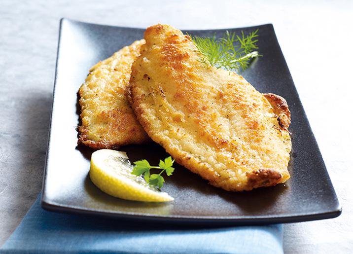 Filets de limande meunière citron/persil