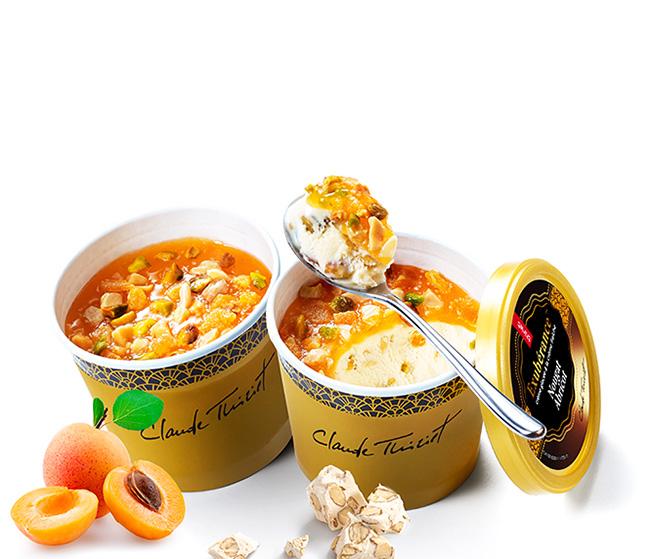 2 Pots Exubérance™ Nougat abricot