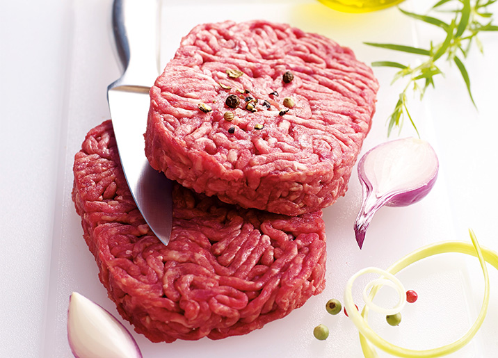 8 Steaks hachés pur boeuf 15% MG