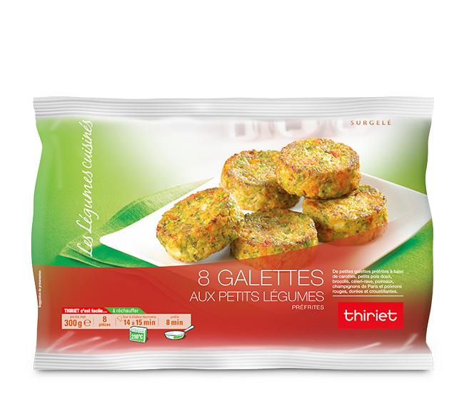 8 Galettes légumes au choix : le 2ème sachet à - 70%