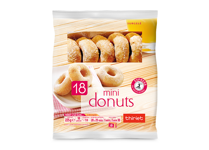 18 Mini donuts