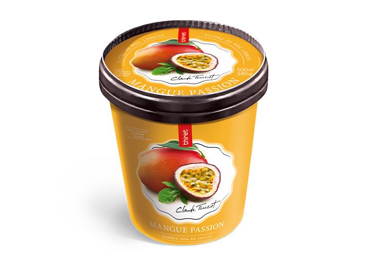 Pot Sorbet Plein Fruit Mangue Passion