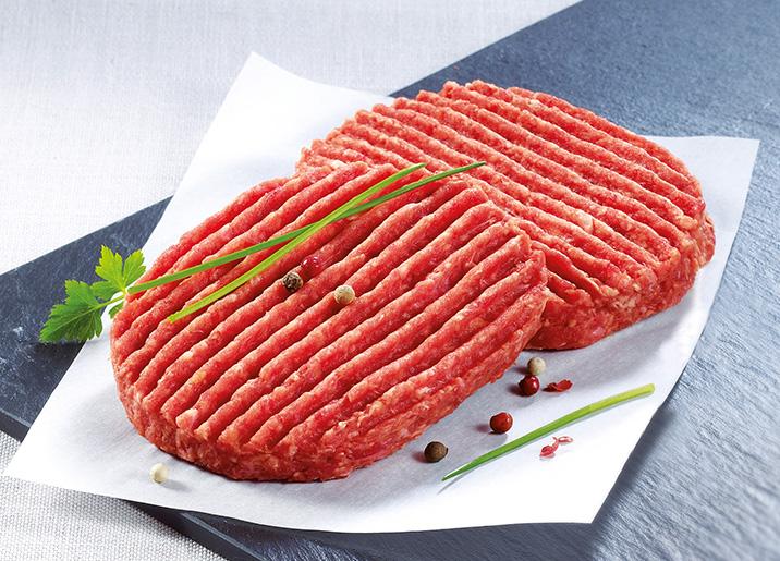 4 Steaks hachés pur boeuf 15% M.G.
