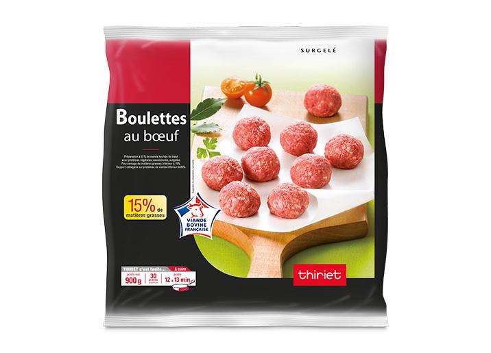Boulettes au boeuf 15% M.G.