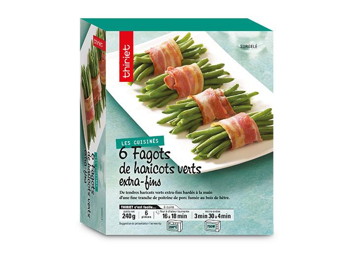 6 Fagots de haricots verts extra-fins
