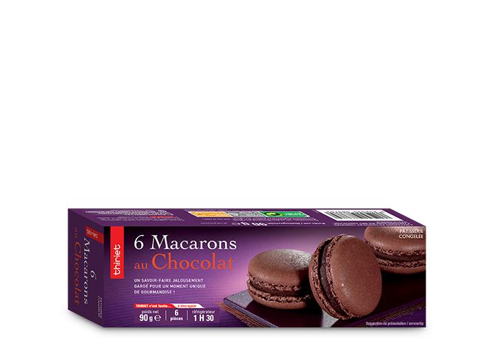 Les 12 macarons au choix parmi 7 parfums