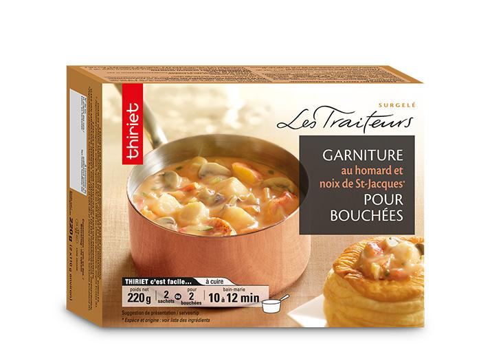 Garniture homard et St-Jacques pour bouchées