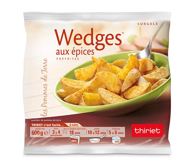 Wedges aux épices : Le 2ème à -70% !