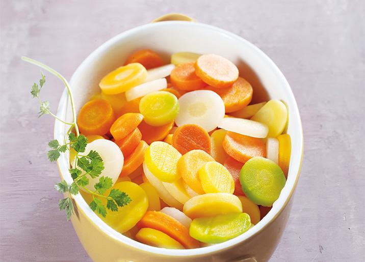 Méli-mélo de carottes