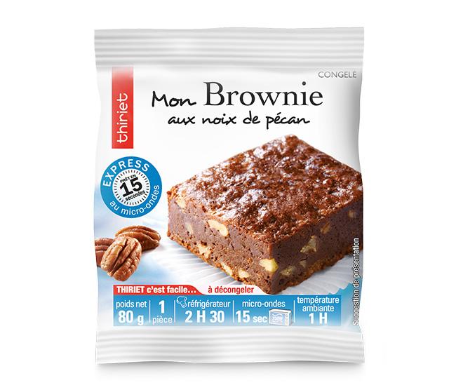 1 Brownie aux noix de pécan
