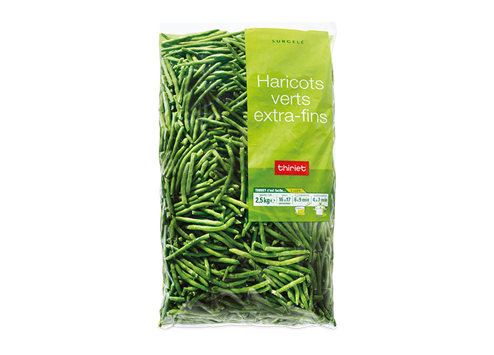 Haricots verts extra fins surgel gamme pommes de terre - Cuisiner haricots verts surgeles ...
