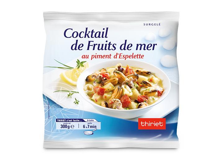 Cocktail de fruits de mer au piment d'Espelette