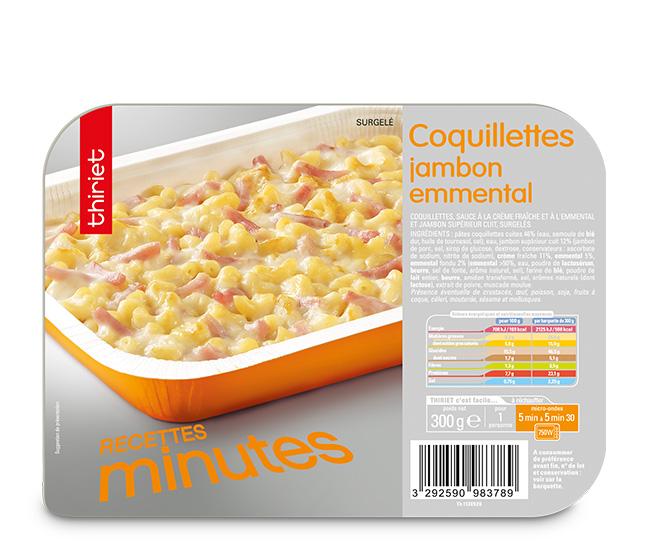 Coquillettes jambon/emmental