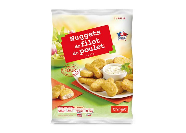 Nuggets de filet de poulet : le 2ème à -50%