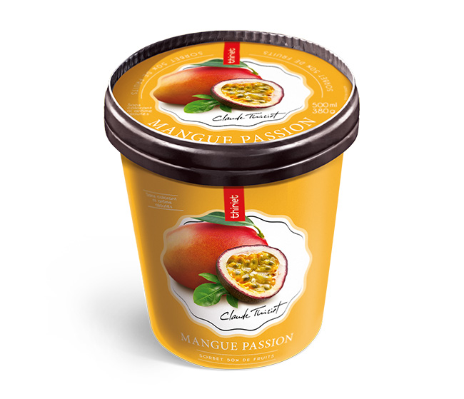 Pot Sorbet Plein Fruit Mangue Passion