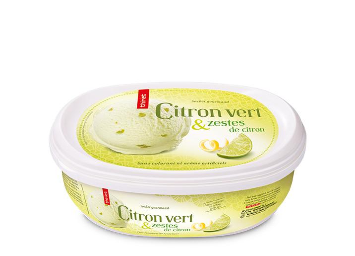 Citron vert et zestes de citron