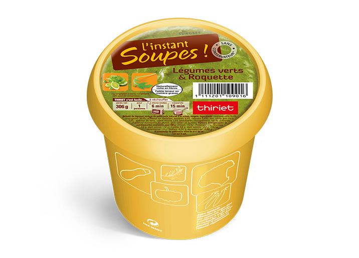 L'instant Soupes !™ Légumes verts & roquette