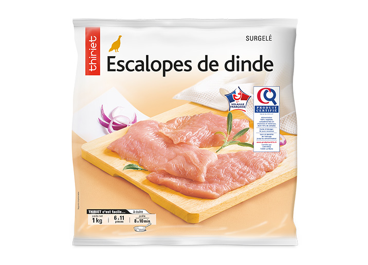 Escalopes de dinde
