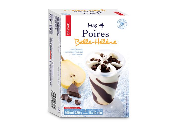 4 Poires Belle-Hélène