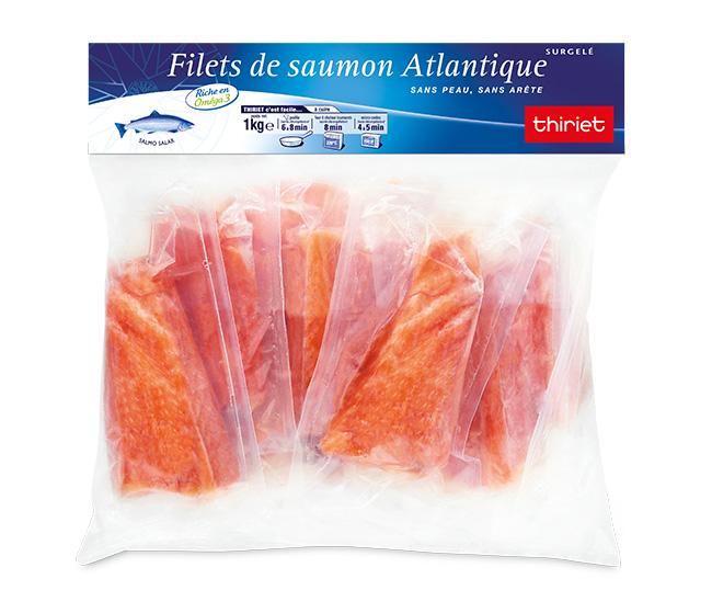 Filets de saumon Atlantique