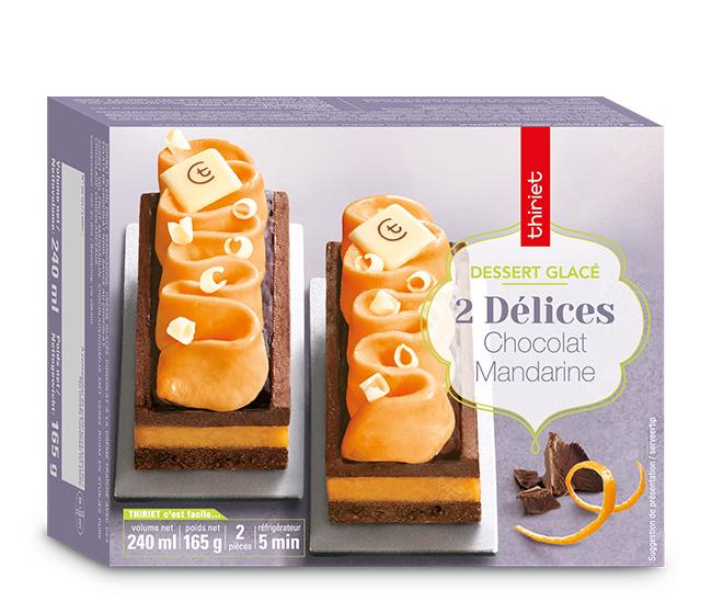 2 Délices chocolat/mandarine