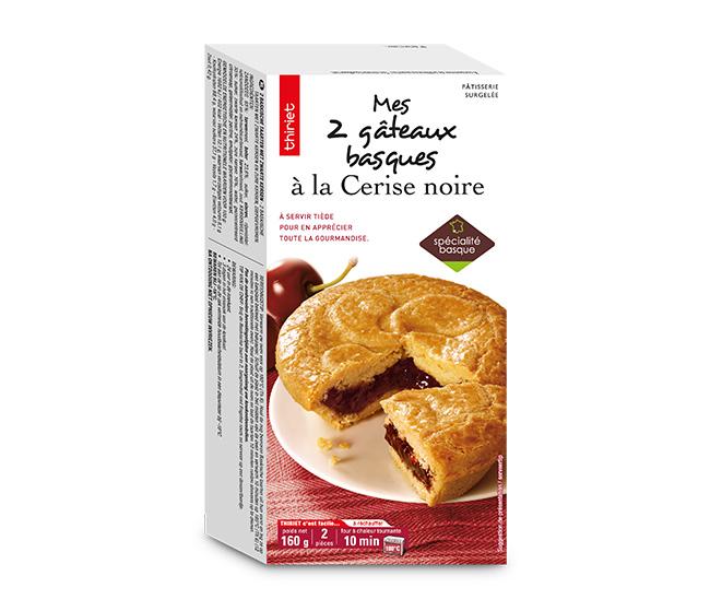 2 Gâteaux basques cerise : la 2ème boite à - 70%