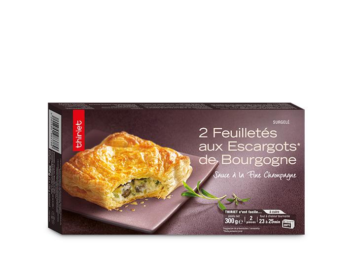 2 Feuilletés aux escargots de Bourgogne