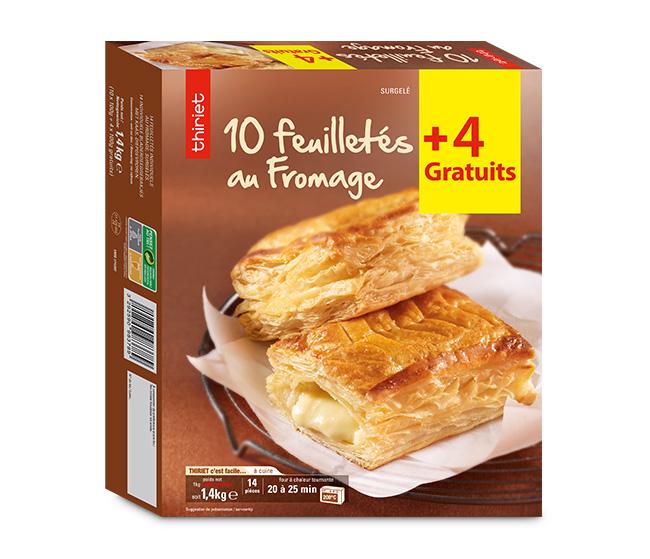 10 Feuilletés au fromage + 4 gratuits
