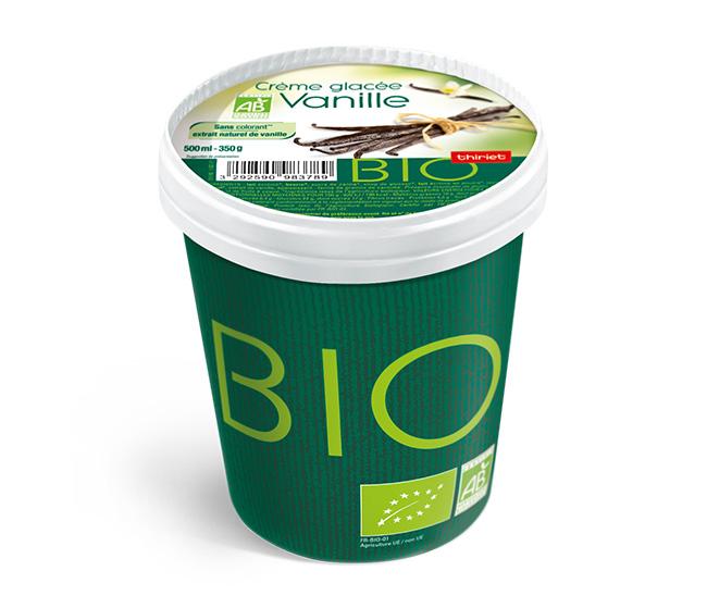 Biologique 500 ml vanille