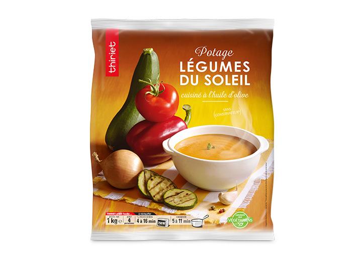 Potage aux légumes du soleil