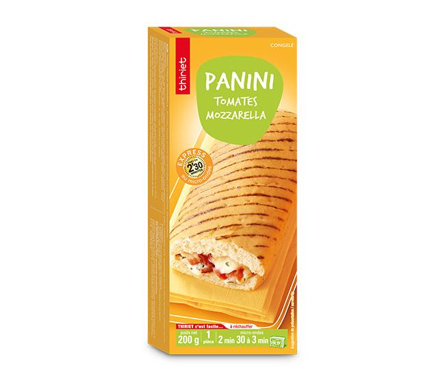 Panini tomates/mozzarella