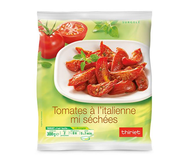 Tomates à l'italienne mi-séchées