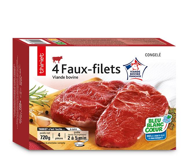 4 Faux-filets