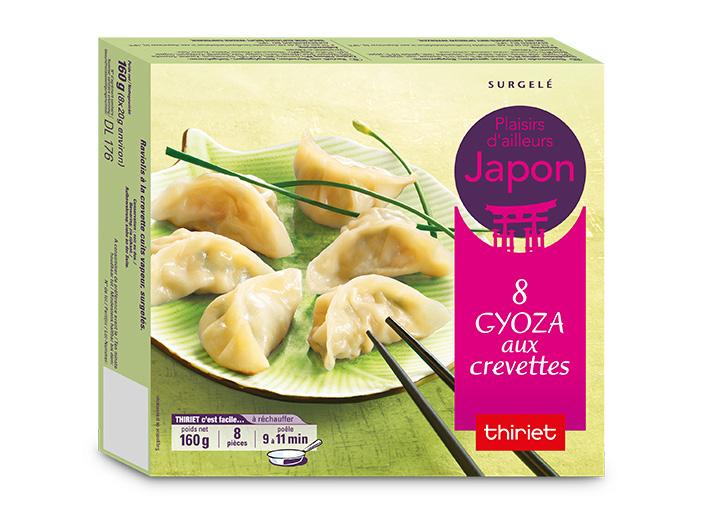 8 Gyoza aux crevettes